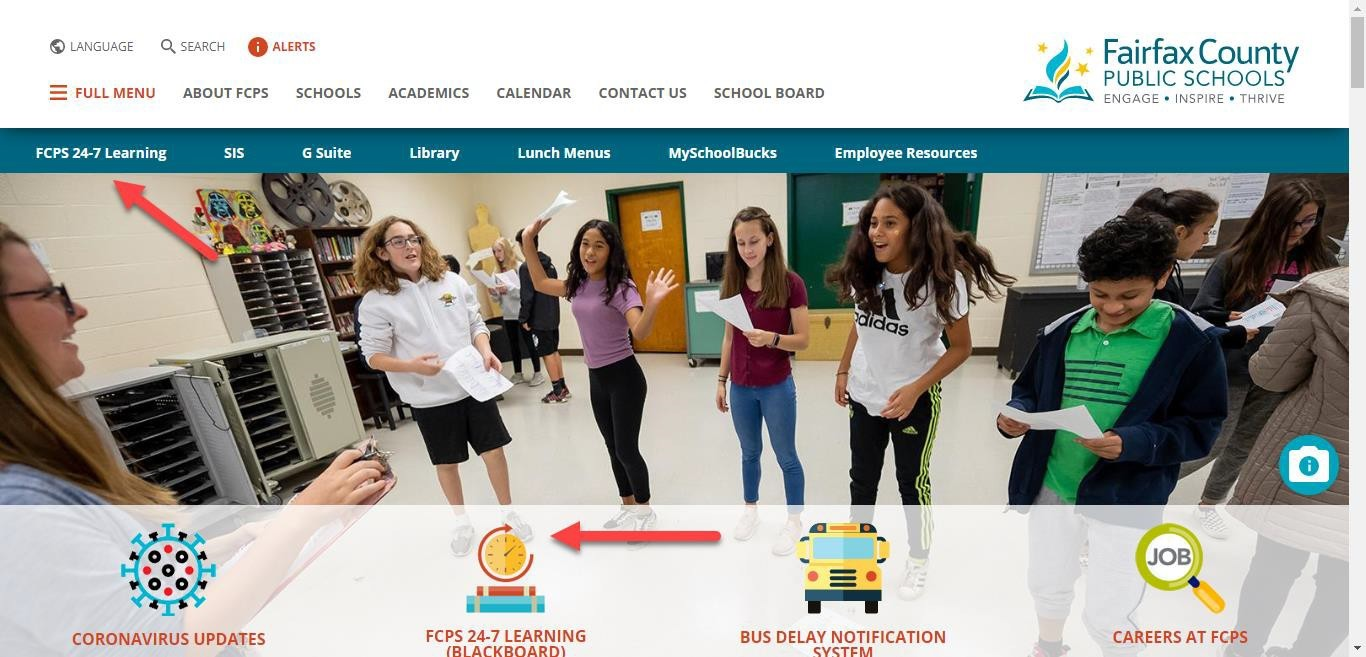 fcps homepage
