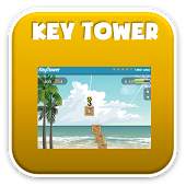 icon and link to keytower typing game